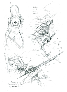 "Thanatos and Aesmadaeva action concepts. For ""Hexenvalze."""